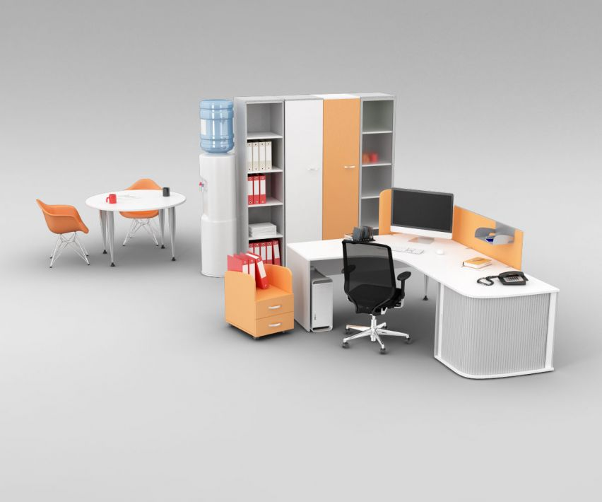 office set 21 AM110 Archmodels