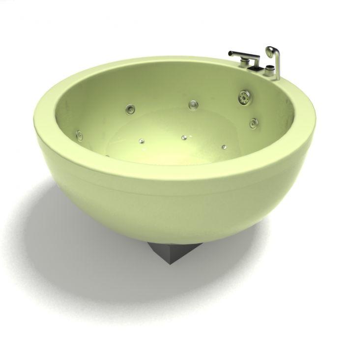 bathtub 58 AM15 Archmodels