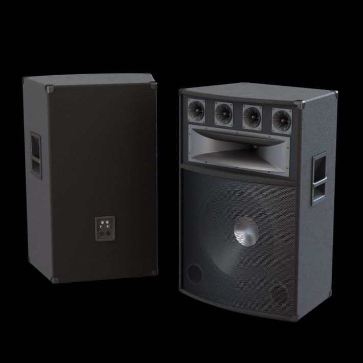 loudspeaker 50 AM104 Archmodels