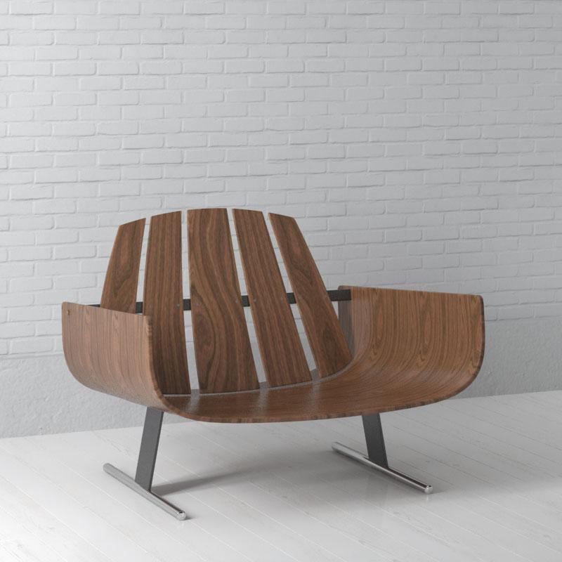 chair 23 AM157 Archmodels