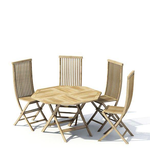 Garden furniture 70 AM22 Archmodels