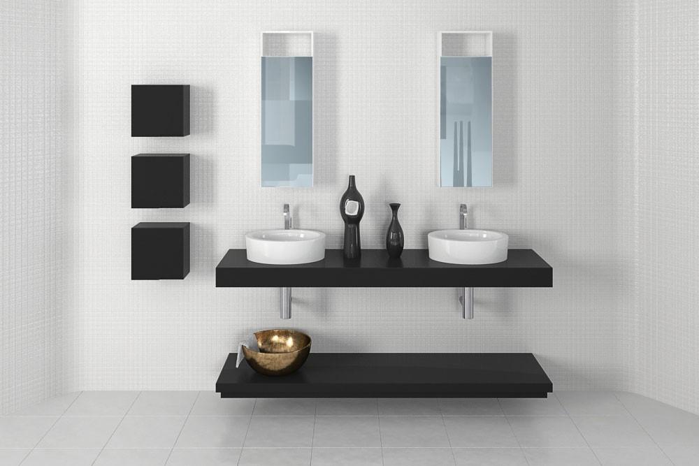 Bathroom furniture 26 AM168 Archmodels