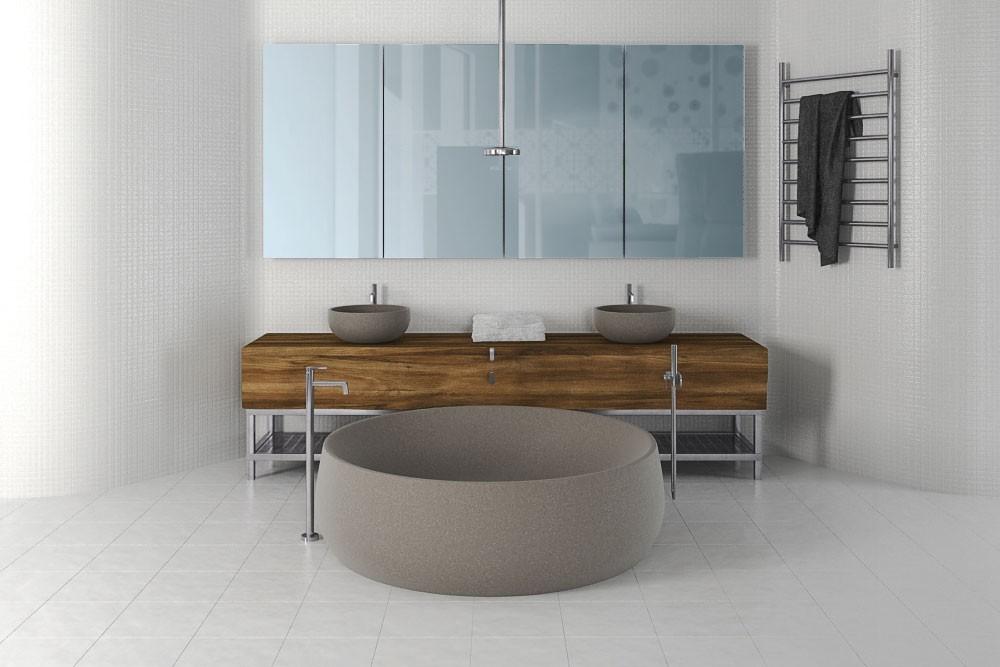 Bathroom furniture 9 AM168 Archmodels