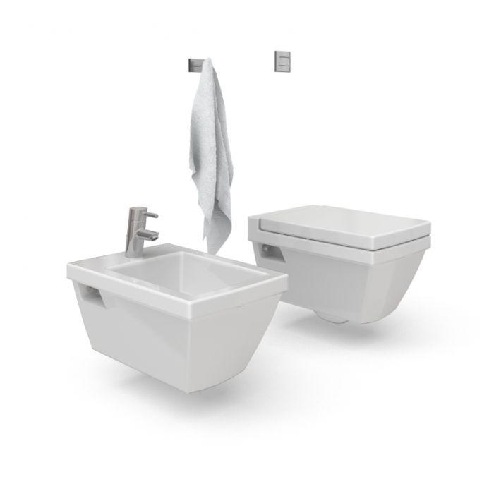 bathroom furniture set 55 AM56 Archmodels