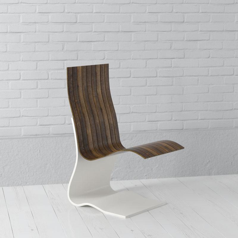 chair 74 AM157 Archmodels