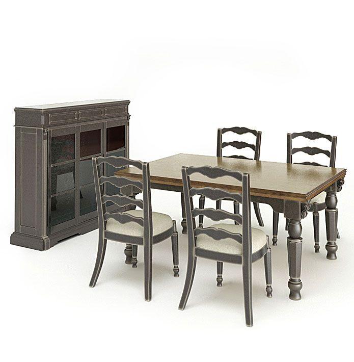 American furnitures set 6 AM65 Archmodels