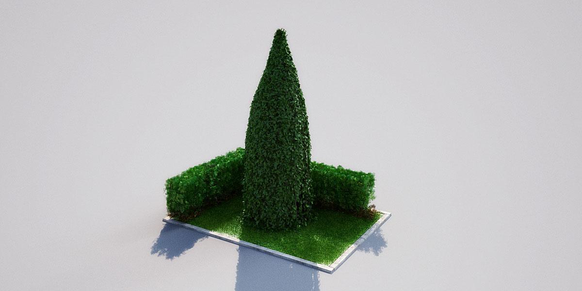 hedge 18 4 AM148 Archmodels