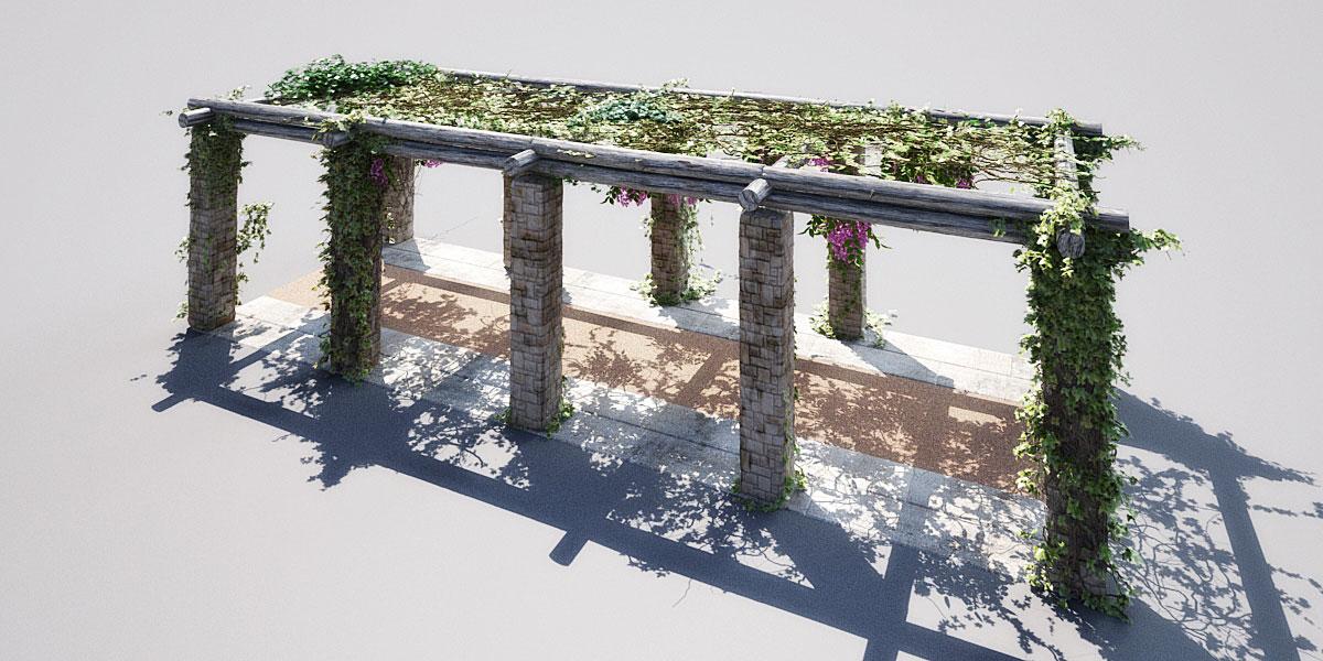garden 2 1 AM148 Archmodels