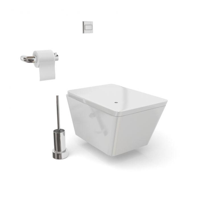 bathroom furniture set 57 AM56 Archmodels