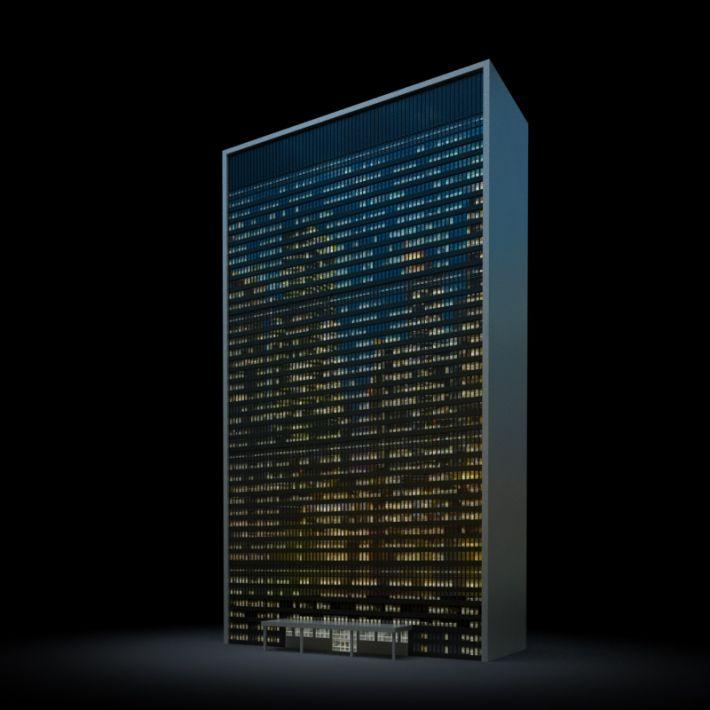 skyscraper 2 AM103 Archmodels