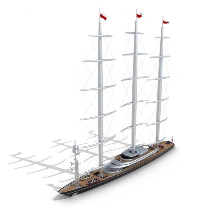 sailing ship 30 AM55 Archmodels