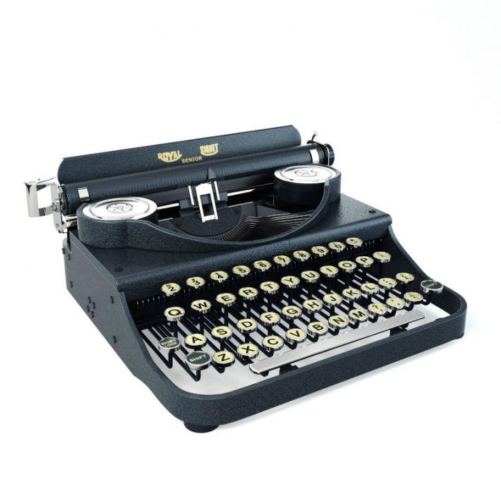 typewriter 44 AM114 Archmodels