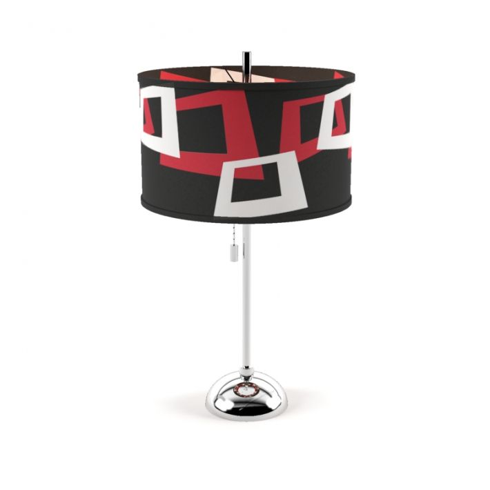 red black and white lamps lamp shade lamp 50 am50 archmodels lamp obj 3ds fbx dxf mxs 3d model evermotion