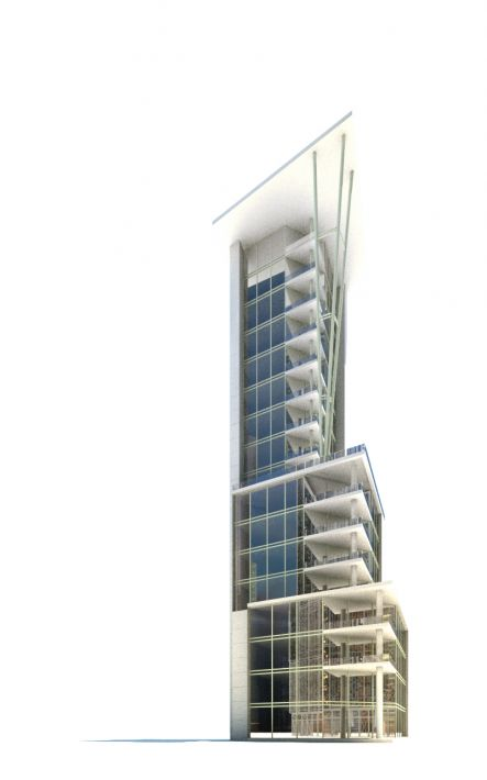 skyscraper 76 AM71 Archmodels