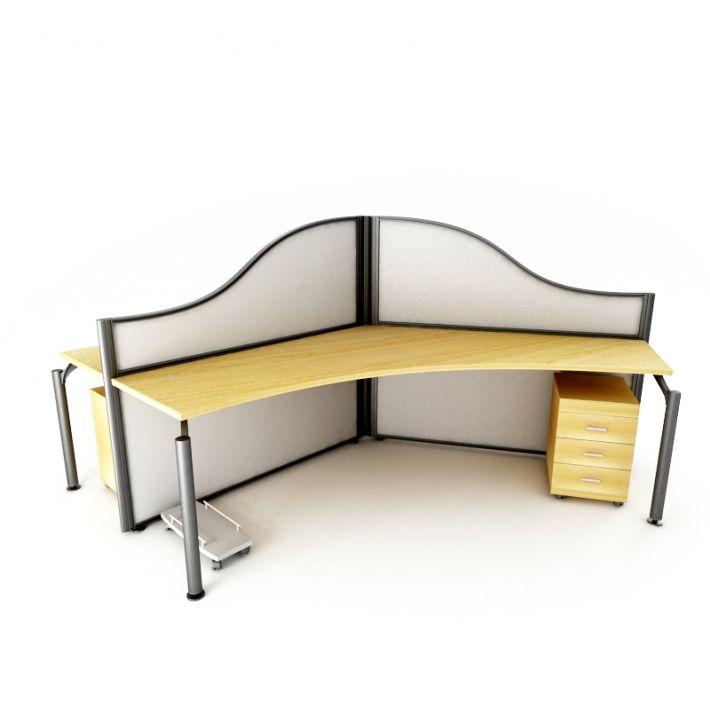 office desk 57 AM53 Archmodels