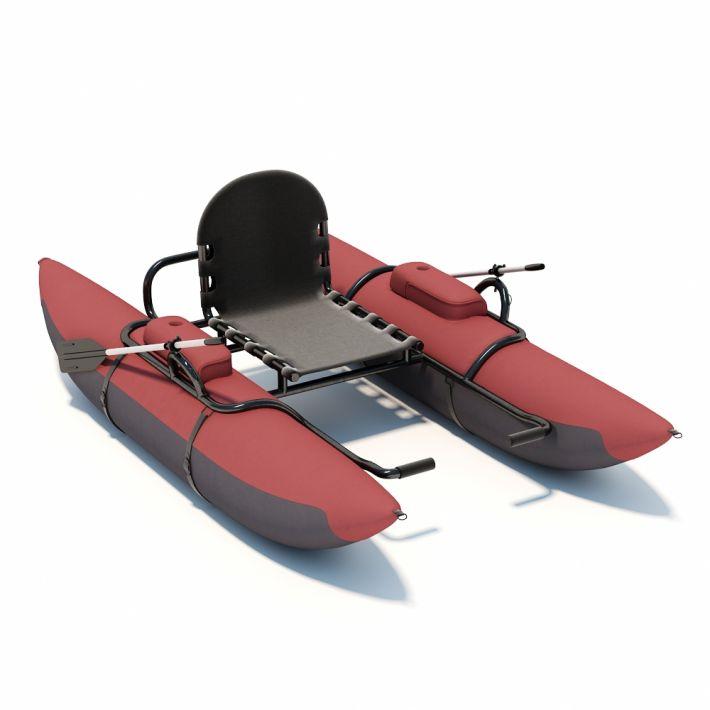 pontoon boat 21 AM94 Archmodels
