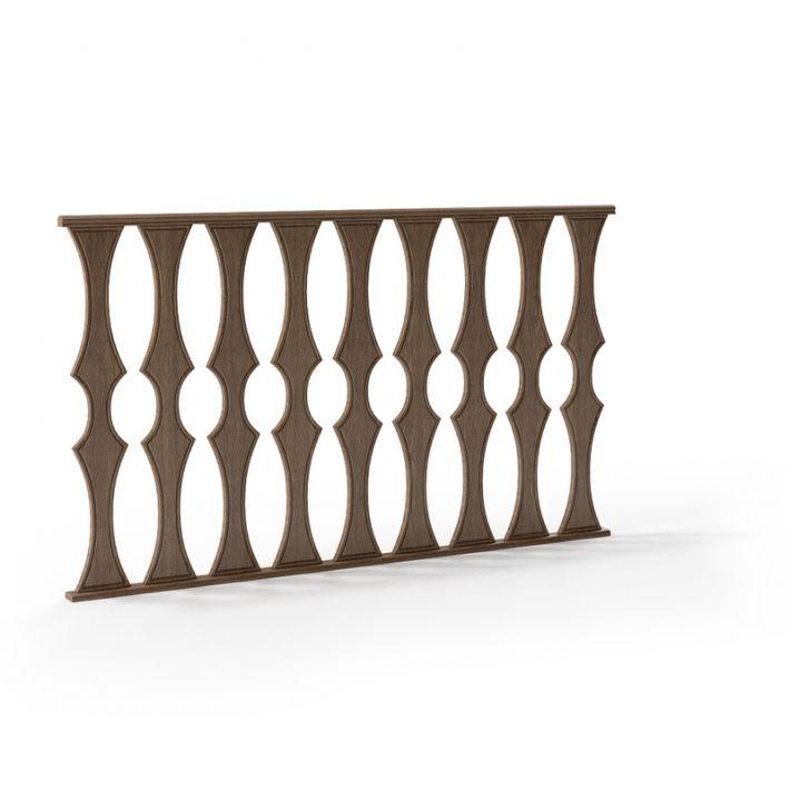 railing 102 AM79 Archmodels