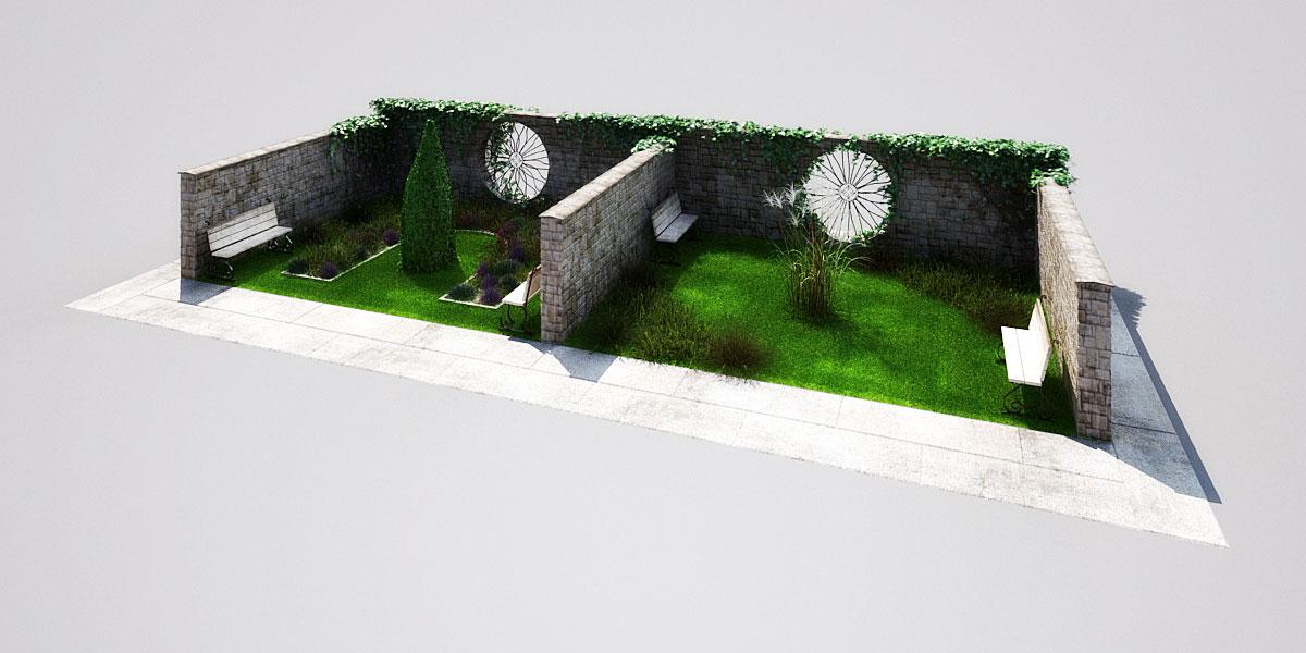 garden 2 2 AM148 Archmodels