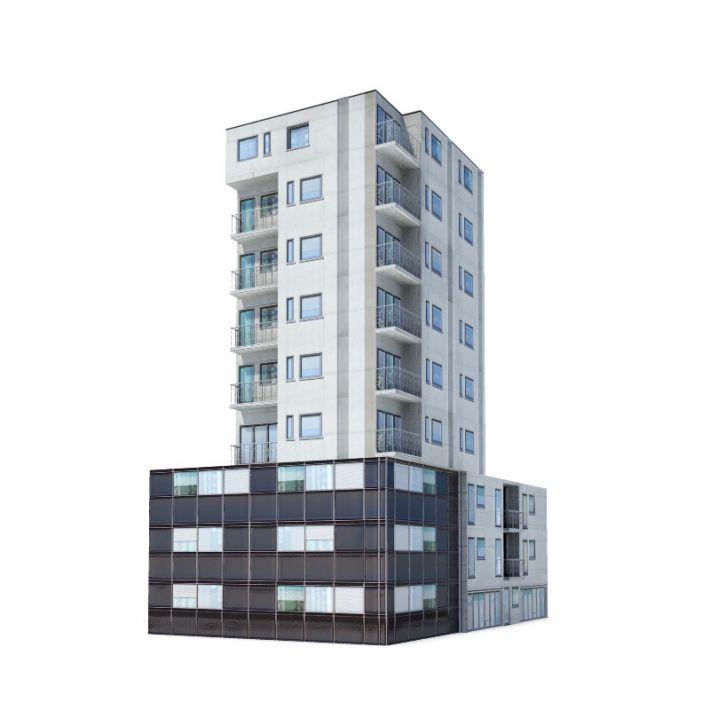 Building 40 am62 archmodels obj mxs 3ds fbx dxf 3d for Construction 3d