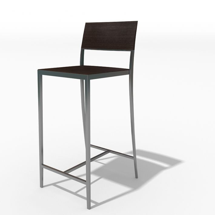 Chair 66 am45 archmodels obj 3ds fbx dxf 3d model for Chair design 3ds max
