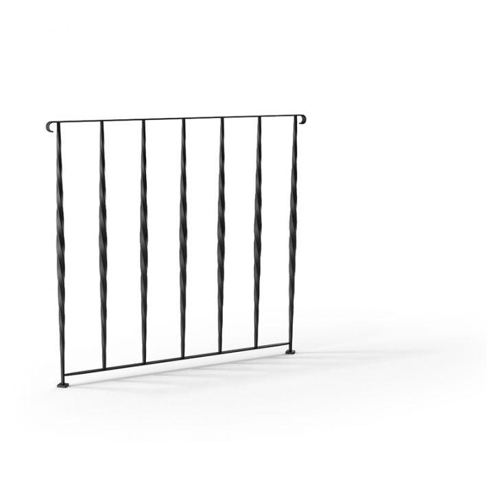 railing 96 AM79 Archmodels