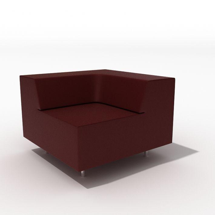 armchair 38 AM45 Archmodels