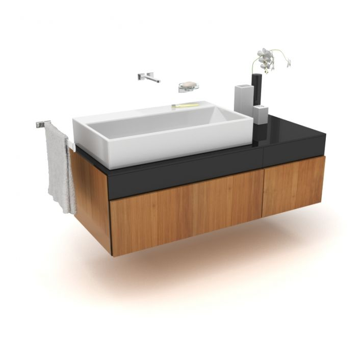 bathroom furniture set 29 AM56 Archmodels