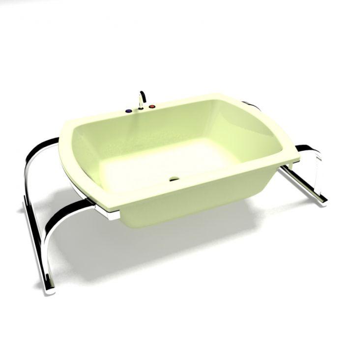 bathtub 12 AM15 Archmodels