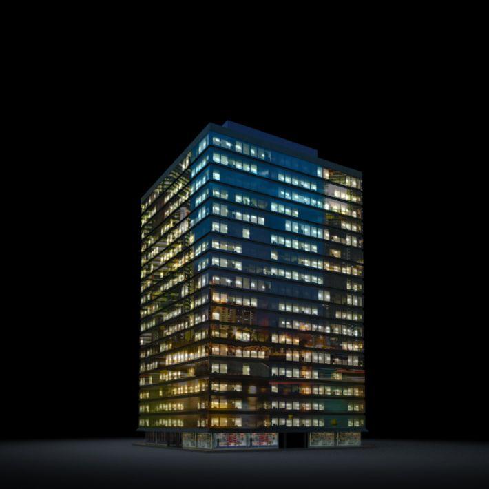 skyscraper 3 AM13 Archmodels