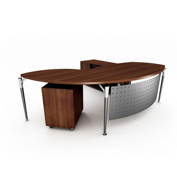 office desk 26 AM53 Archmodels