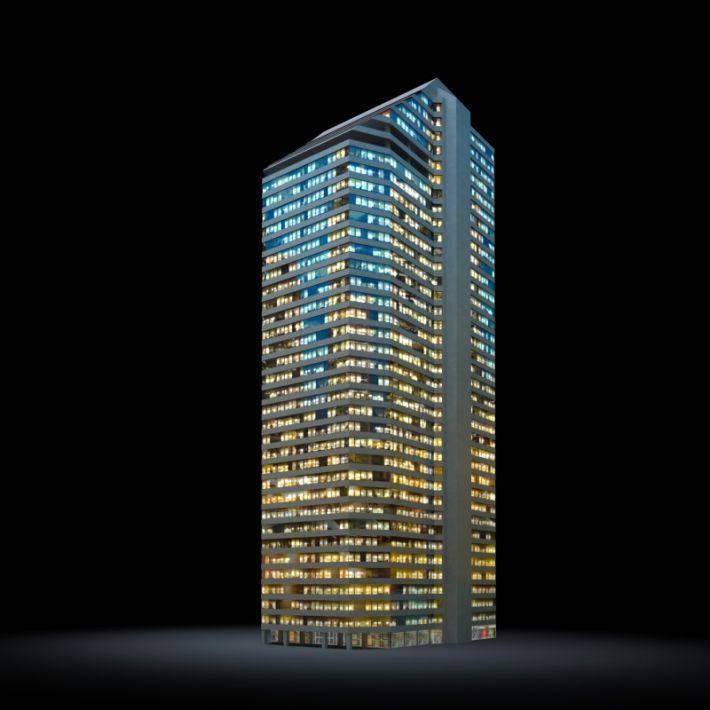 skyscraper 9 AM103 Archmodels