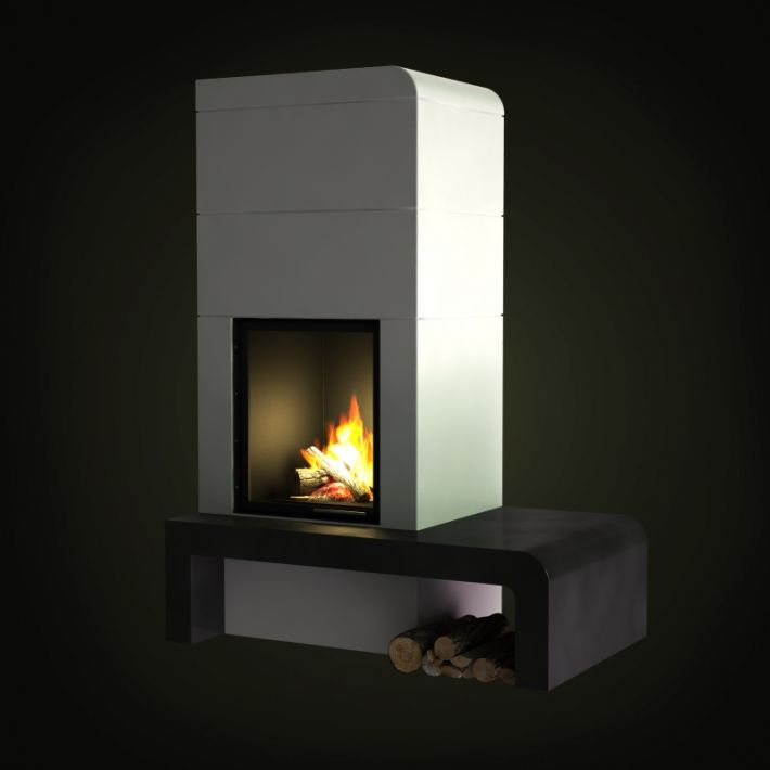 fireplace 36 AM97 Archmodels
