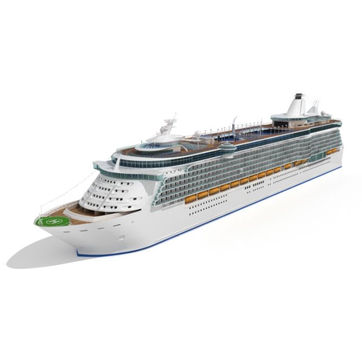 cruise ship 35 AM55 Archmodels