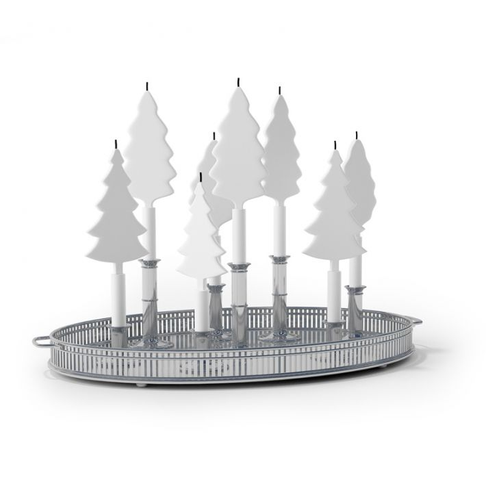 Christmas candlestick 58 AM88 Archmodels