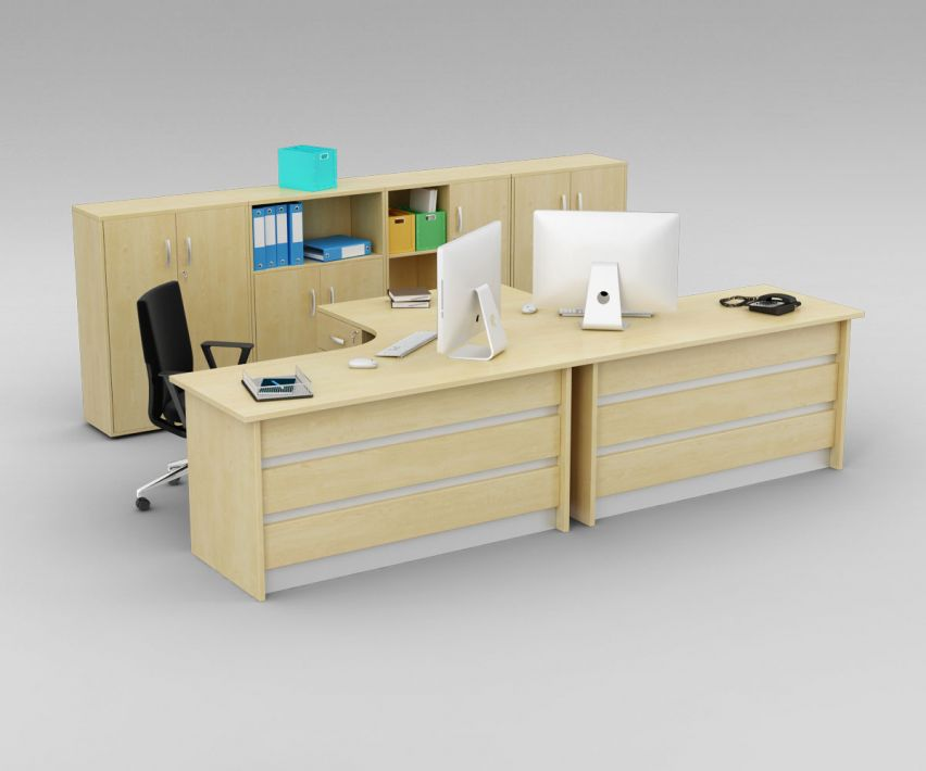 office set 3 AM110 Archmodels