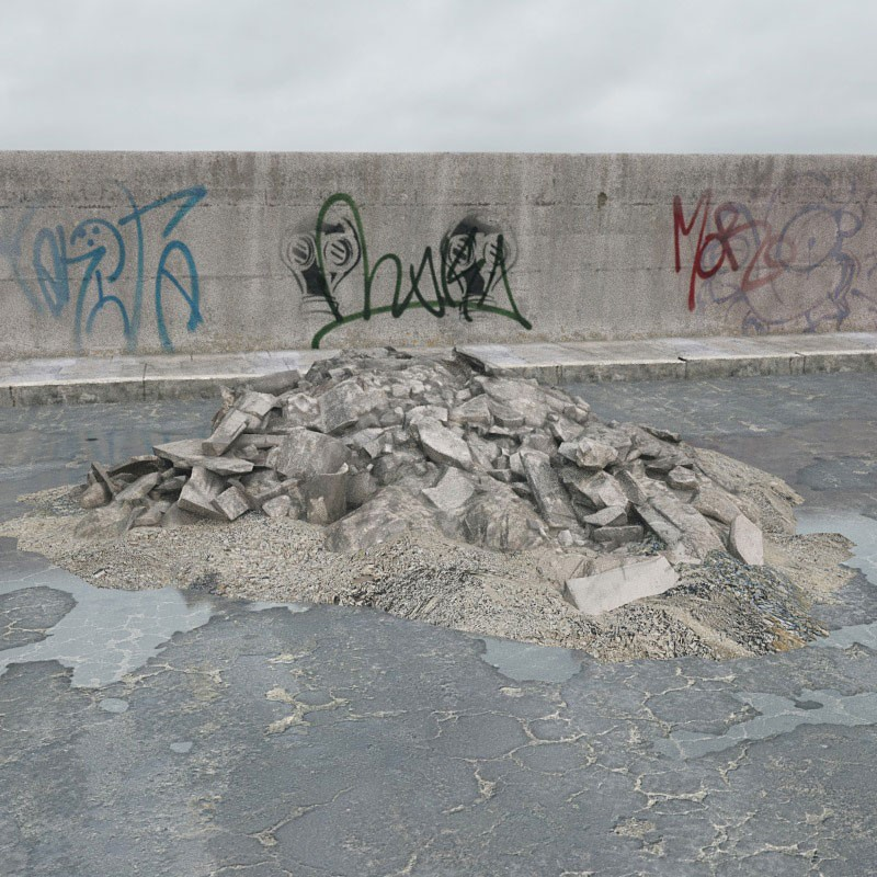 rubble 63 AM165 Archmodels