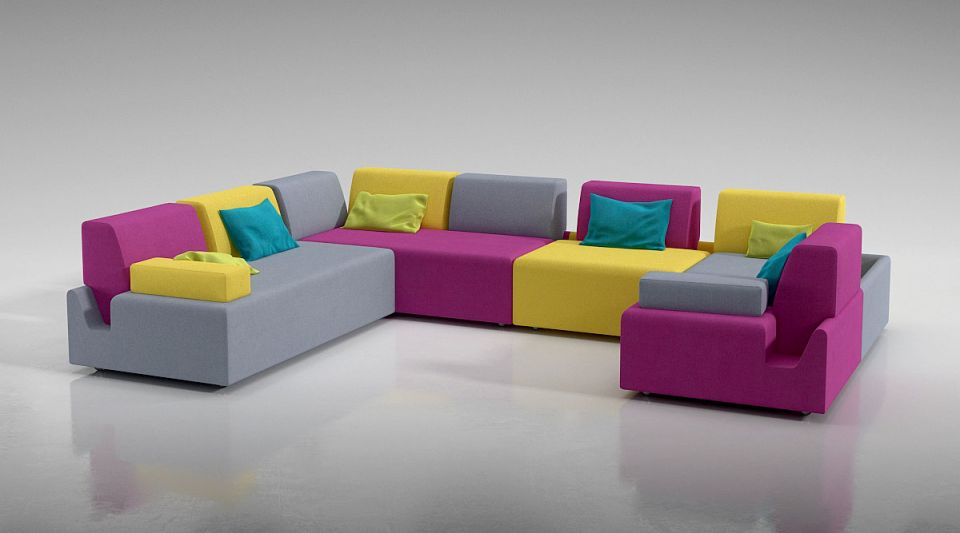 furniture 8 set 1 AM129 Archmodels