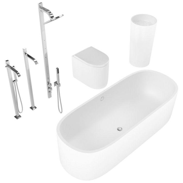 bathroom fixtures 22 AM127 Archmodels