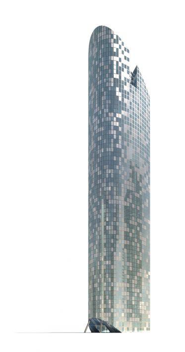 skyscraper 16 AM71 Archmodels