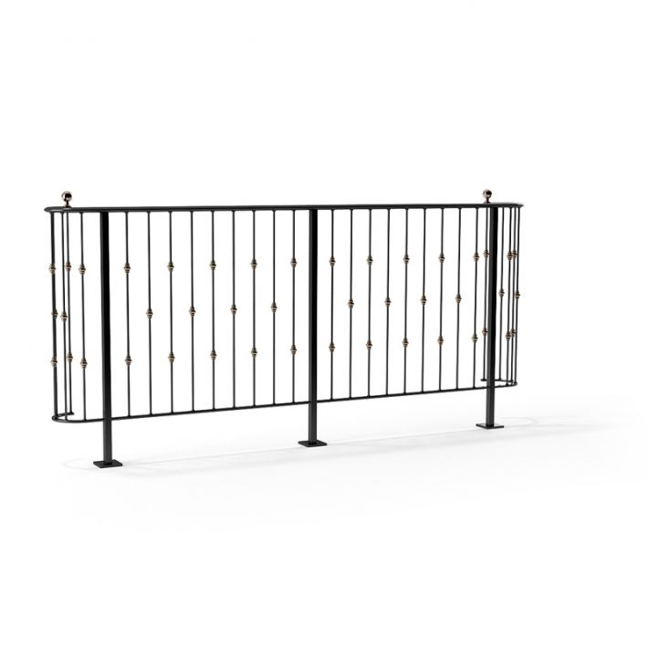 railing 129 AM79 Archmodels