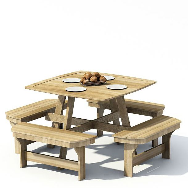 108 Items In Archmodels Vol. 22. Garden Furniture 72 AM22