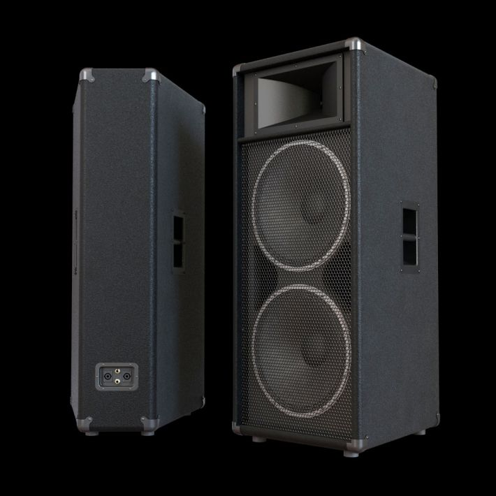 loudspeaker 56 AM104 Archmodels