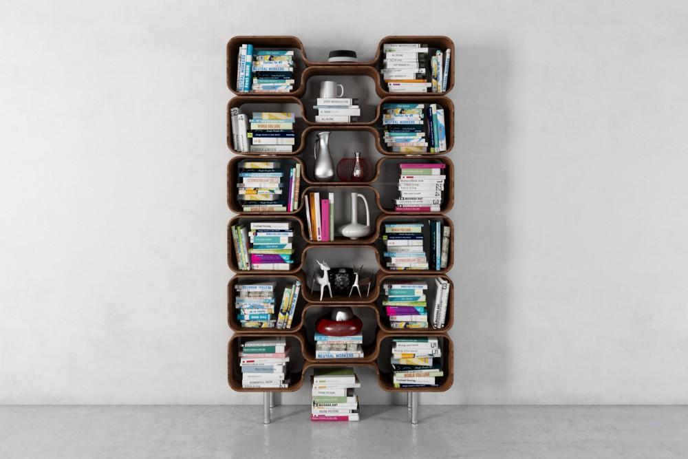 bookshelf 43 AM179 Archmodels