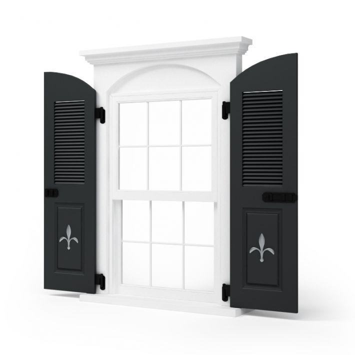 window shutters 73 AM95 Archmodels