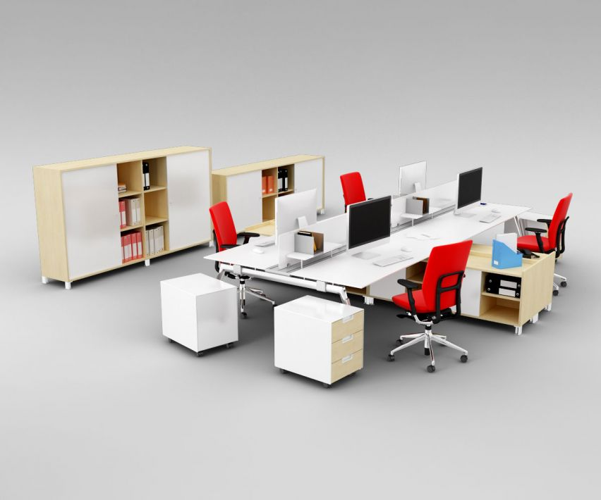 office set 24 AM110 Archmodels