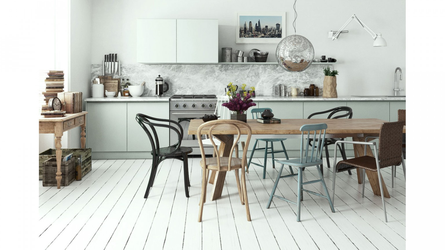 Scandinavian Interiors Bundle vol. 1 - max, psd, hdri Bundle ...