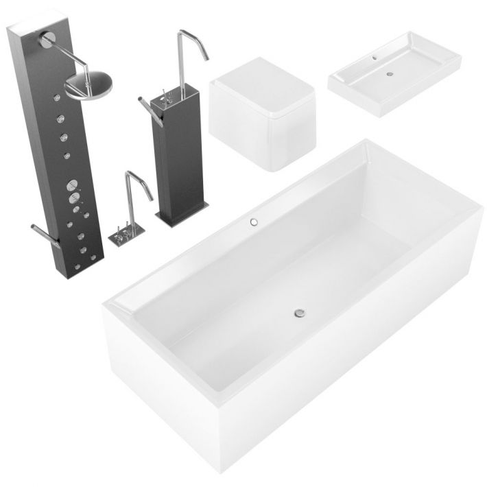 bathroom fixtures 25 AM127 Archmodels