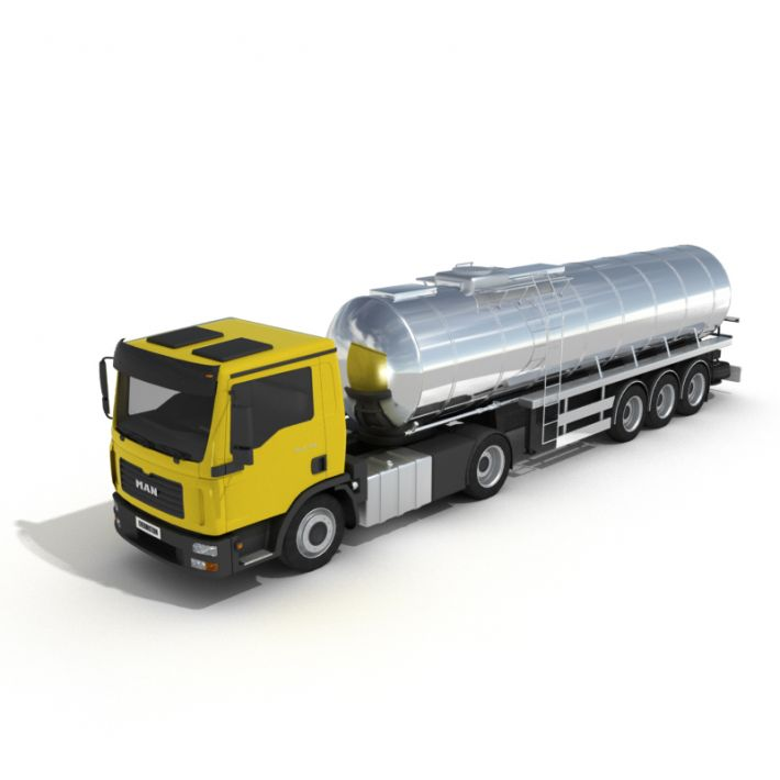 tanker truck 18 AM55 Archmodels