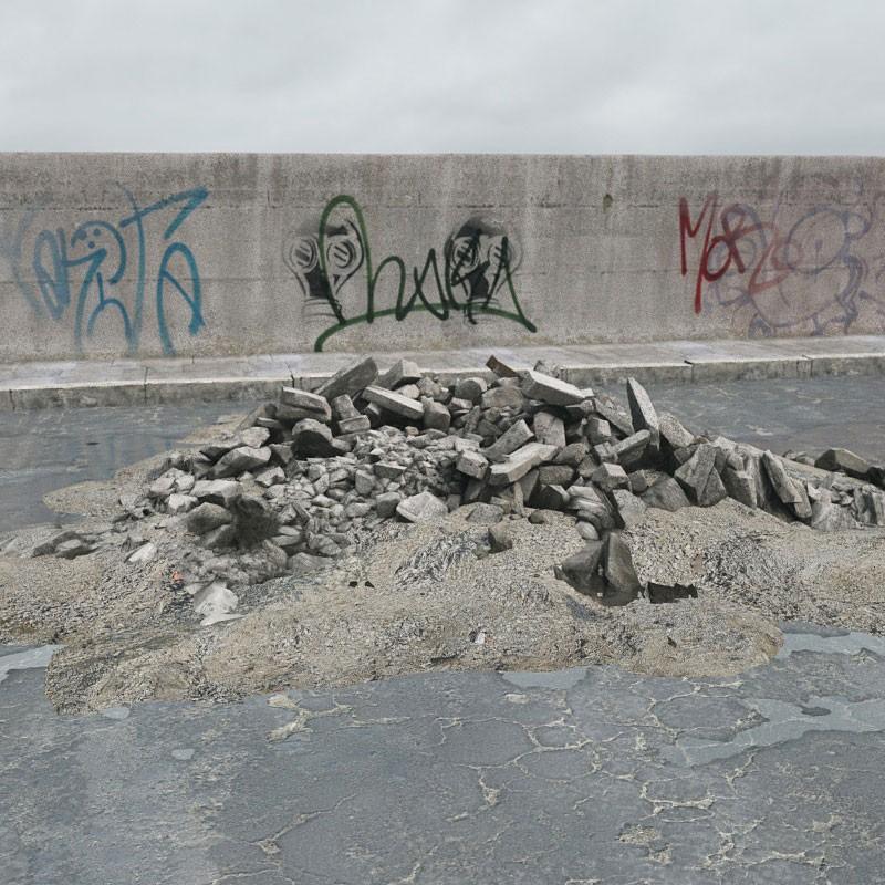 rubble 24 AM165 Archmodels