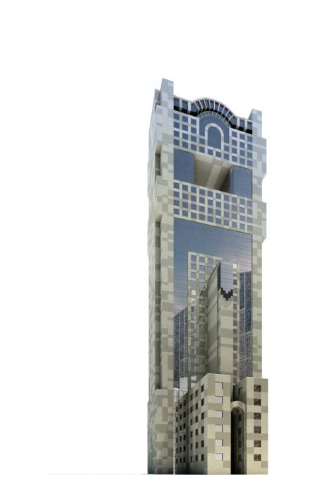 skyscraper 80 AM71 Archmodels